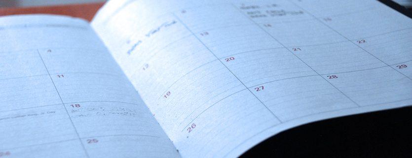 Grant Writing Calendar